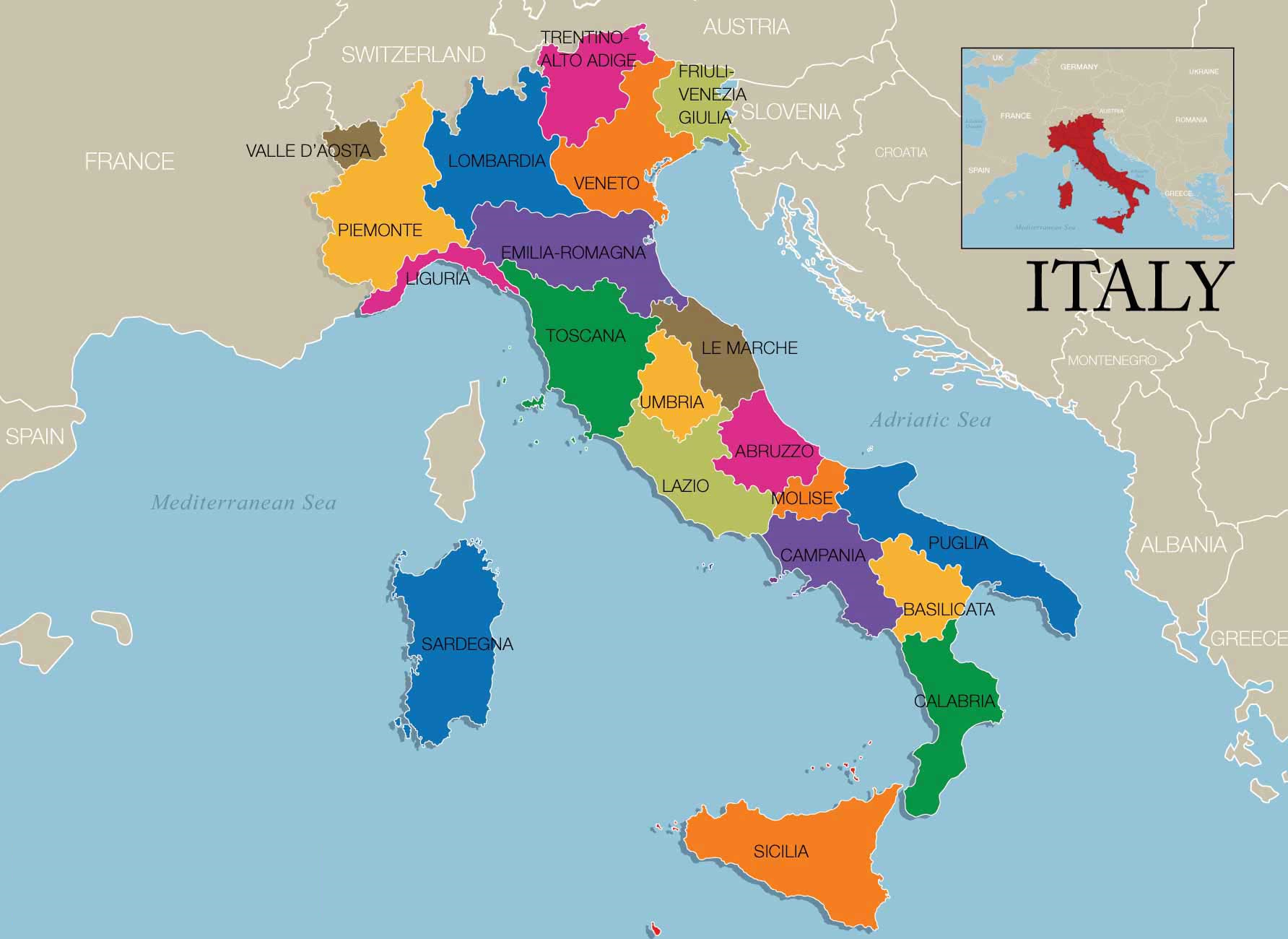 義大利葡萄酒產區