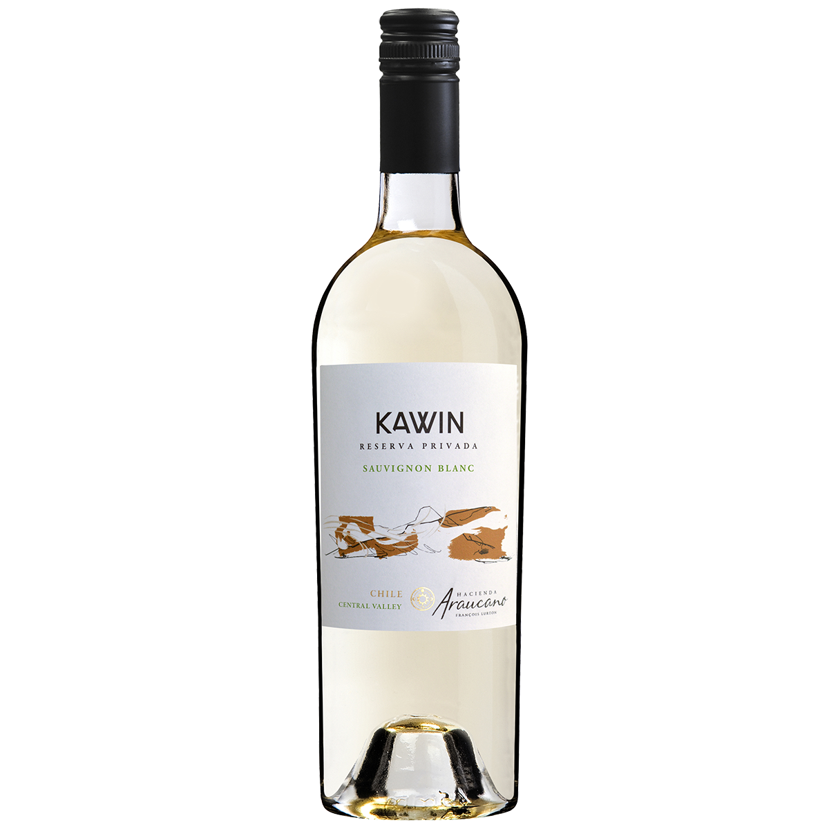 CHL2101 智利魯頓谷人莊園凱因白蘇維濃陳年珍釀白葡萄酒 Hacienda Araucano Kawin Reserva Privada Sauvignon Blanc, Central Valley (750ML)