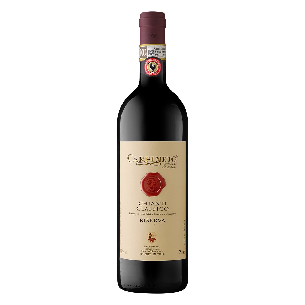 ITTC1207-15 義大利卡品耐托古典奇揚地2015特級陳年紅酒 Carpineto Chianti Classico D.O.C.G. Riserva