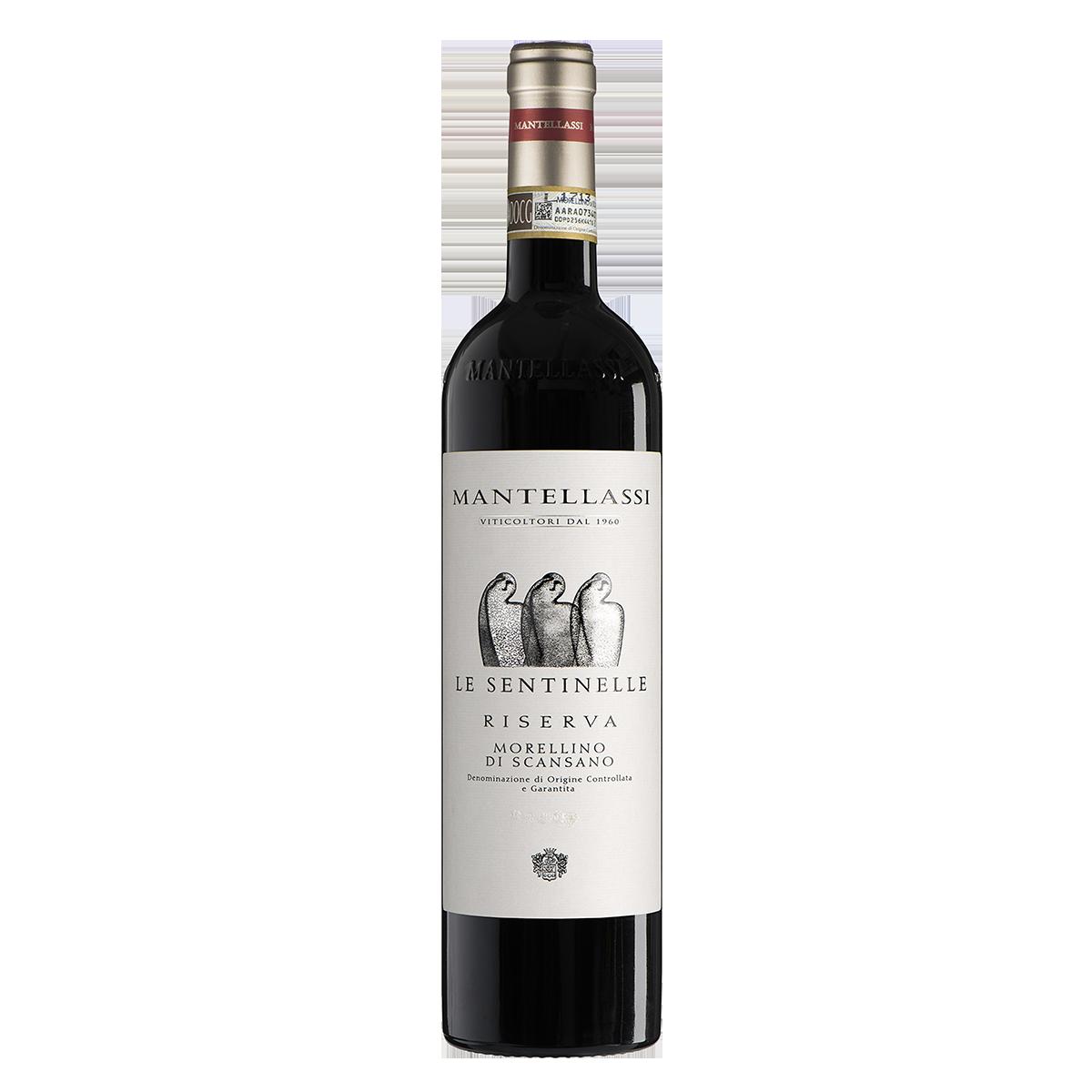 ITTM1201-13 義大利馬得利史坦利高級陳年紅酒 Mantellassi Le Sentinelle Morellino di Scansano D.O.C.G. Riserva