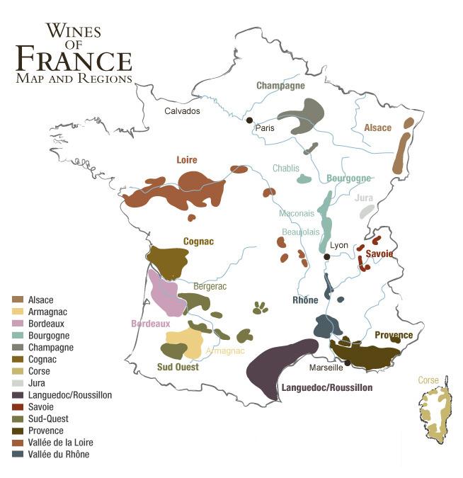 法國葡萄酒產區