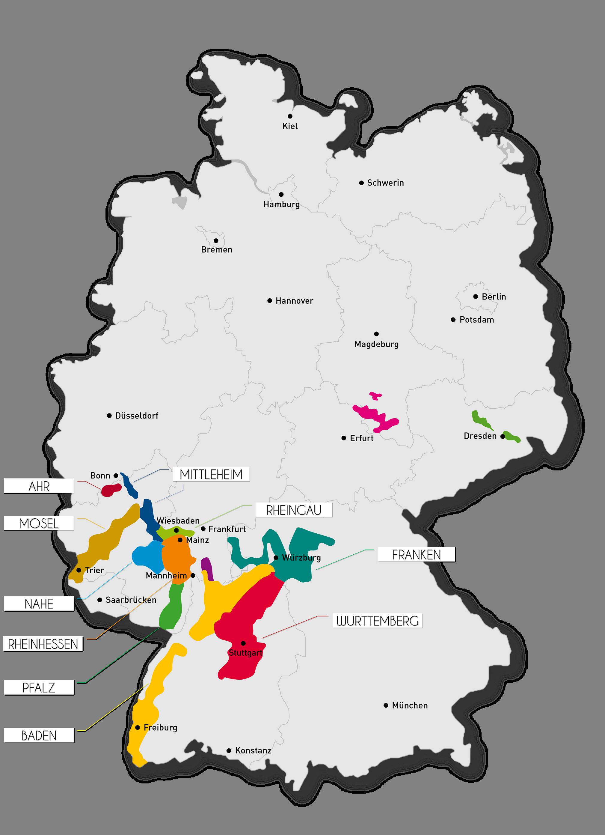 德國葡萄酒產區