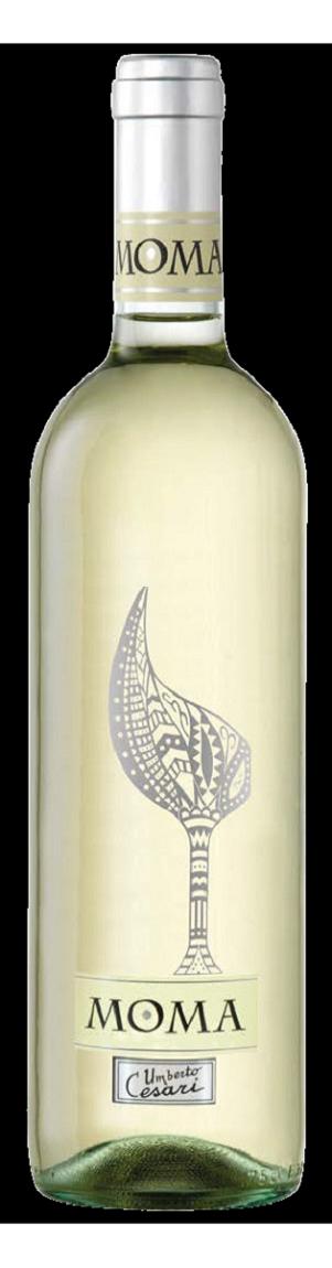 ITEC2508 義大利賽莎瑞傑品特級白葡萄酒 Umberto Cesari MOMA Trebbiano-Chardonnay Rubicone I.G.T.