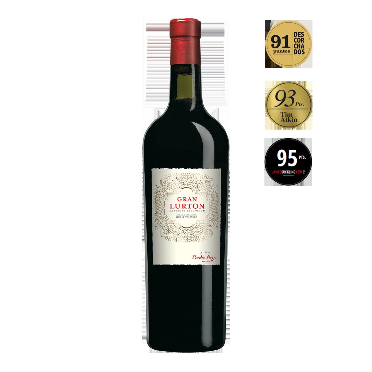 ARL1301 阿根廷門多薩魯頓黑寶石莊園大魯頓卡本內蘇維濃干紅葡萄酒 Gran Lurton Cabernet Sauvignon Gran Reserva, Valle de Uco-Mendoza