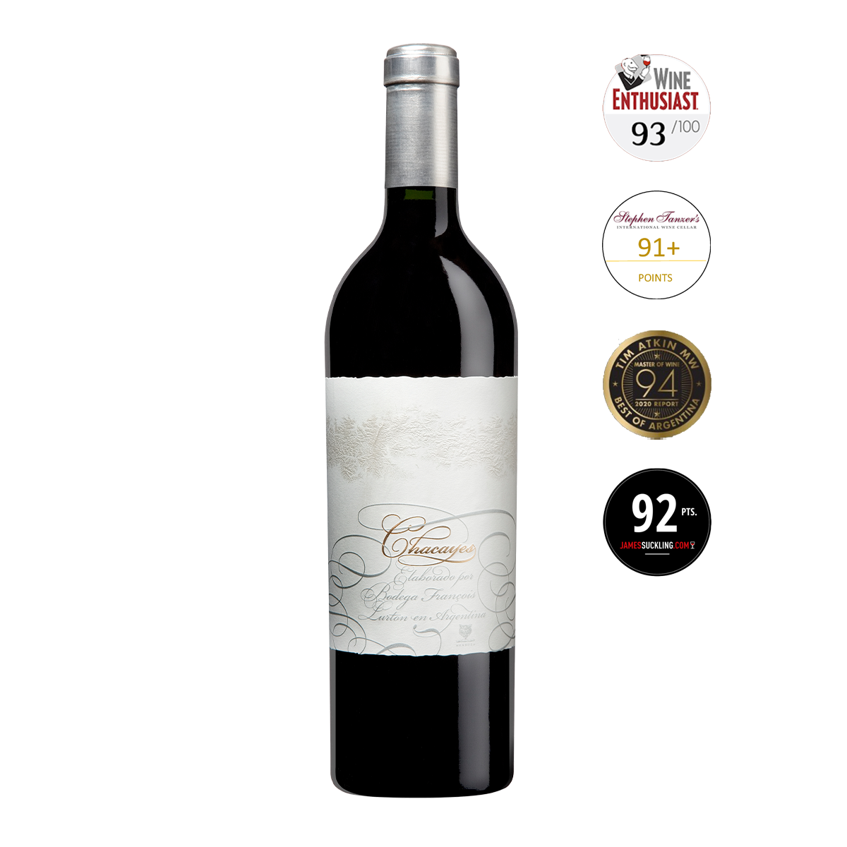 ARL1305 阿根廷門多薩魯頓恰克雅2008國寶旗艦頂級陳年紅酒 Chacayes, Mendoza (750ml)