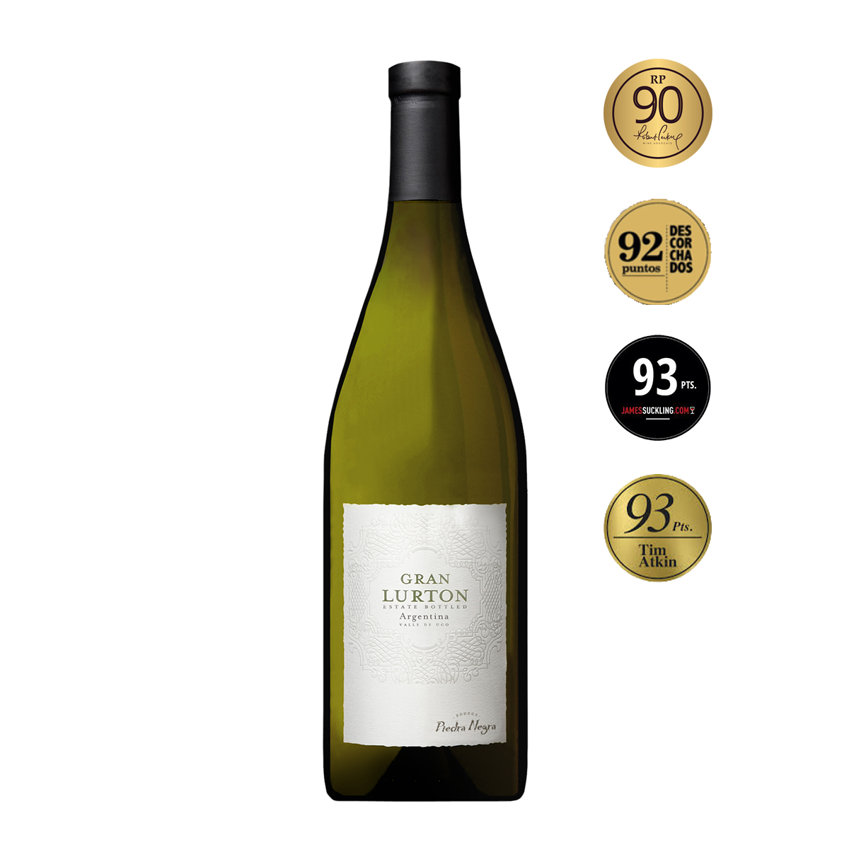 ARL2301 阿根廷門多薩魯頓黑寶石莊園2015大魯頓干白葡萄酒 Gran Lurton Blanco, Valle de Uco-Mendoza (750ml)