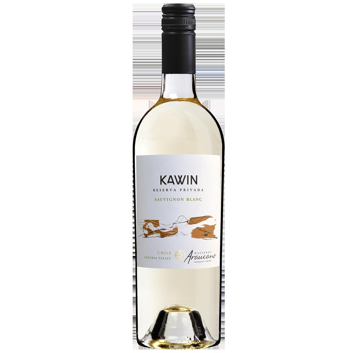 CHL2101 智利魯頓谷人莊園凱因白蘇維濃陳年珍釀白葡萄酒 Hacienda Araucano Kawin Reserva Privada Sauvignon Blanc, Central Valley (750ML)