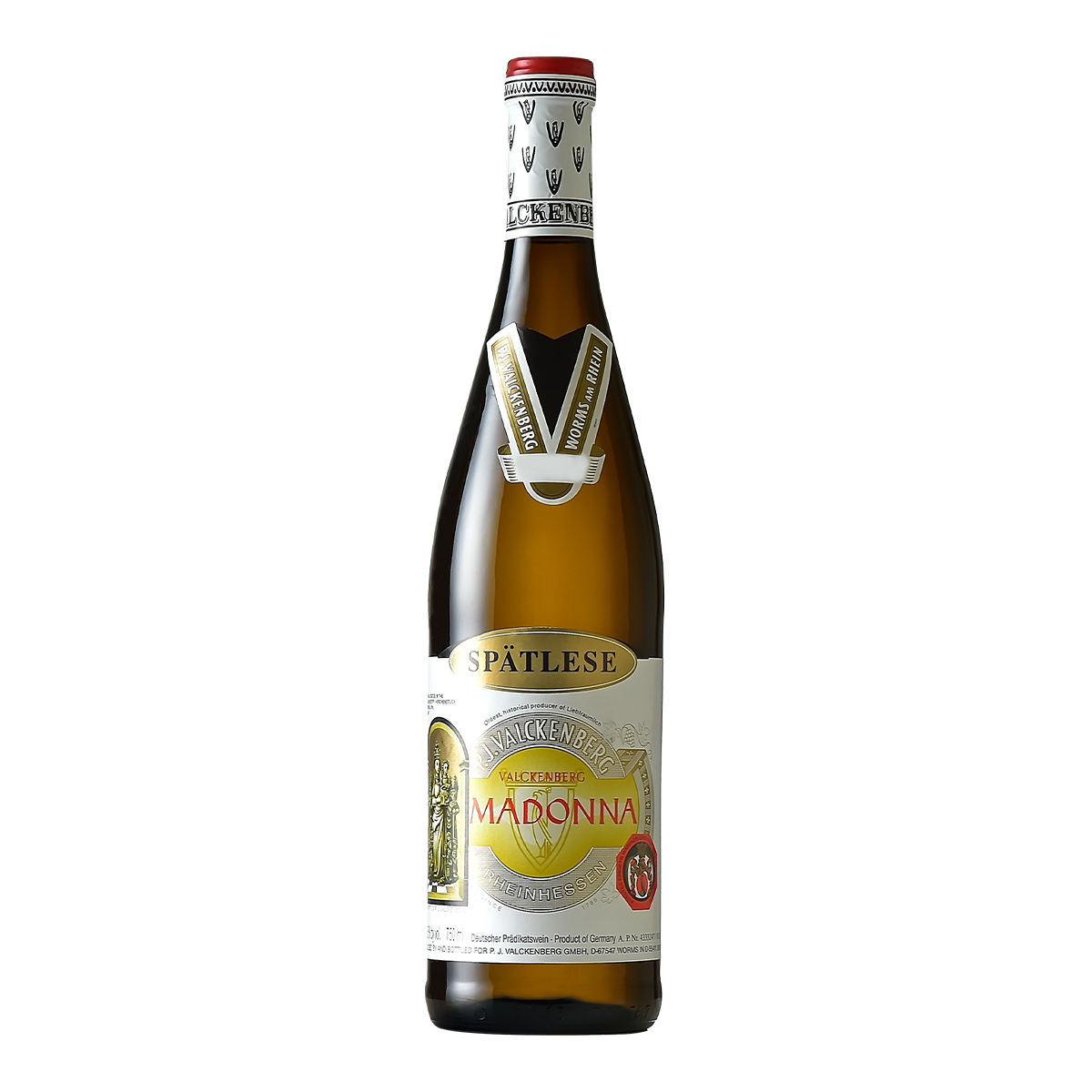 DEV2103 德國范根堡瑪丹娜2014遲摘高級白葡萄酒 P. J. Valckenberg MADONNA Spätlese (微甜) (750ML)
