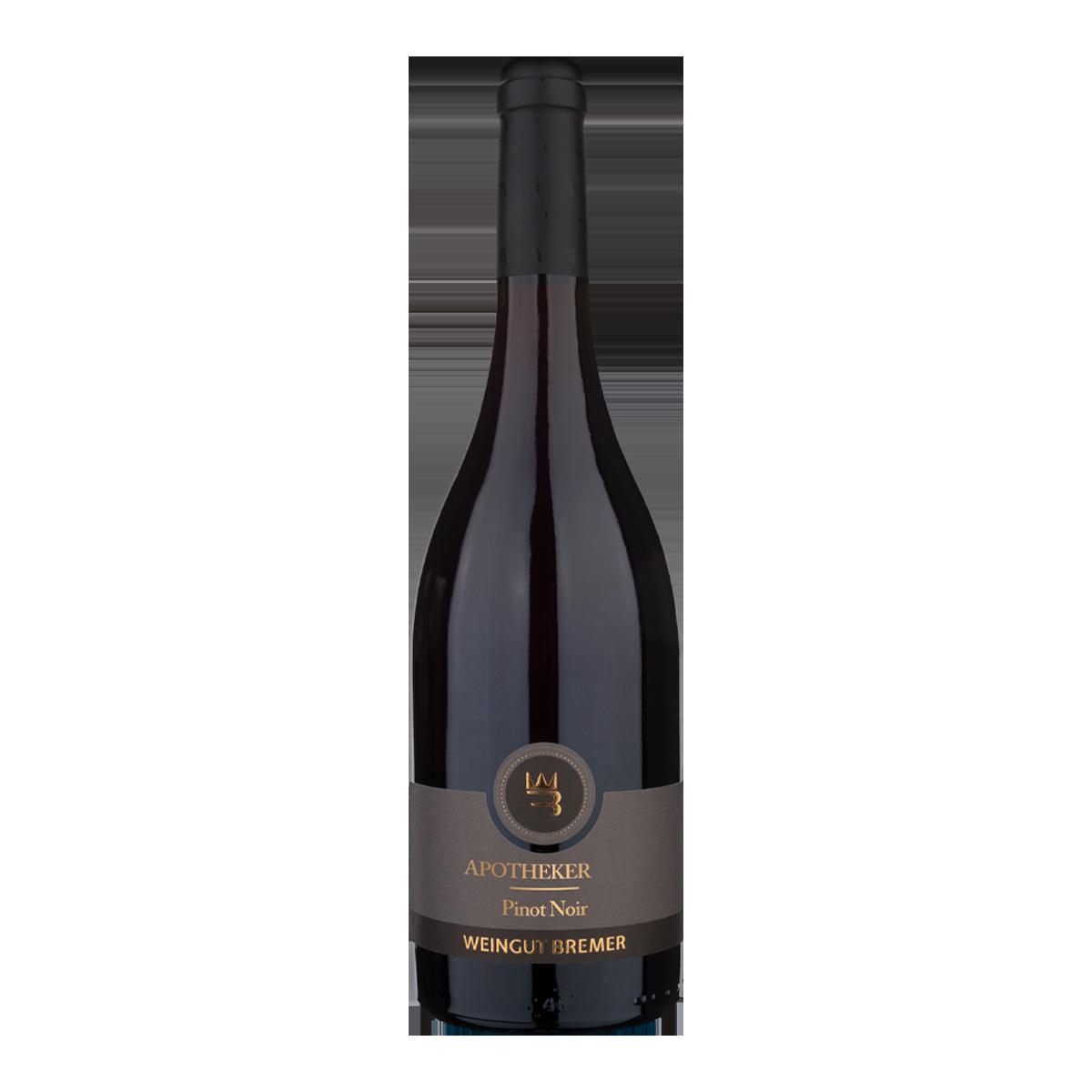 DMA1102-18 德國布雷默酒莊靈藥黑皮諾紅酒 Weingut Bremer Apotheker Pinot Noir Qualitätswein Trocken (750ML)