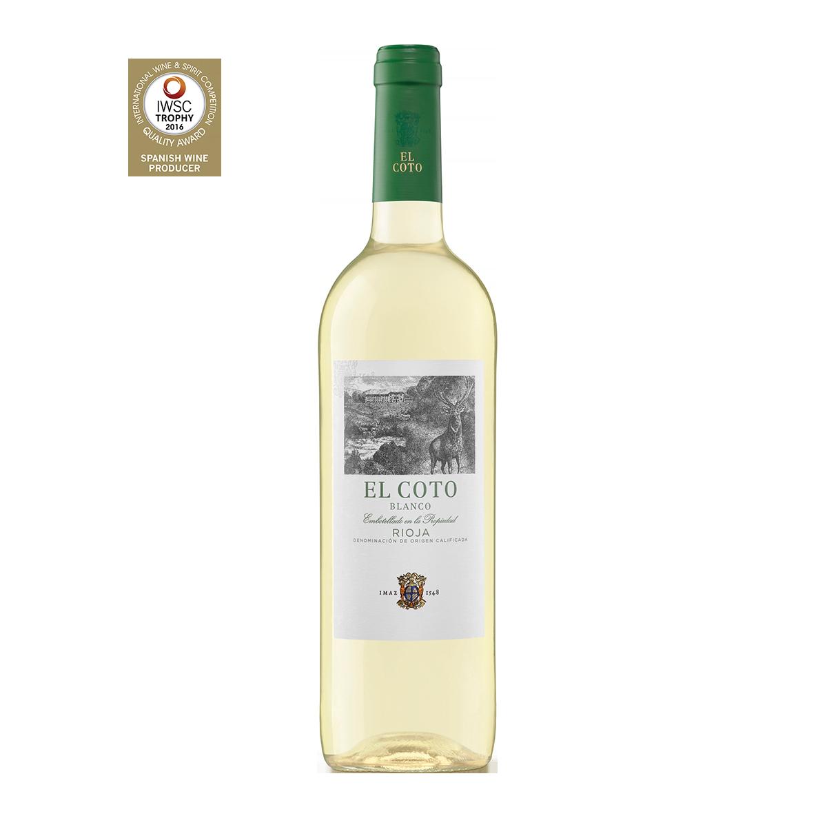 ESC2101 西班牙愛格多瑞鹿高級白葡萄酒 El Coto Blanco Rioja D.O.Ca.