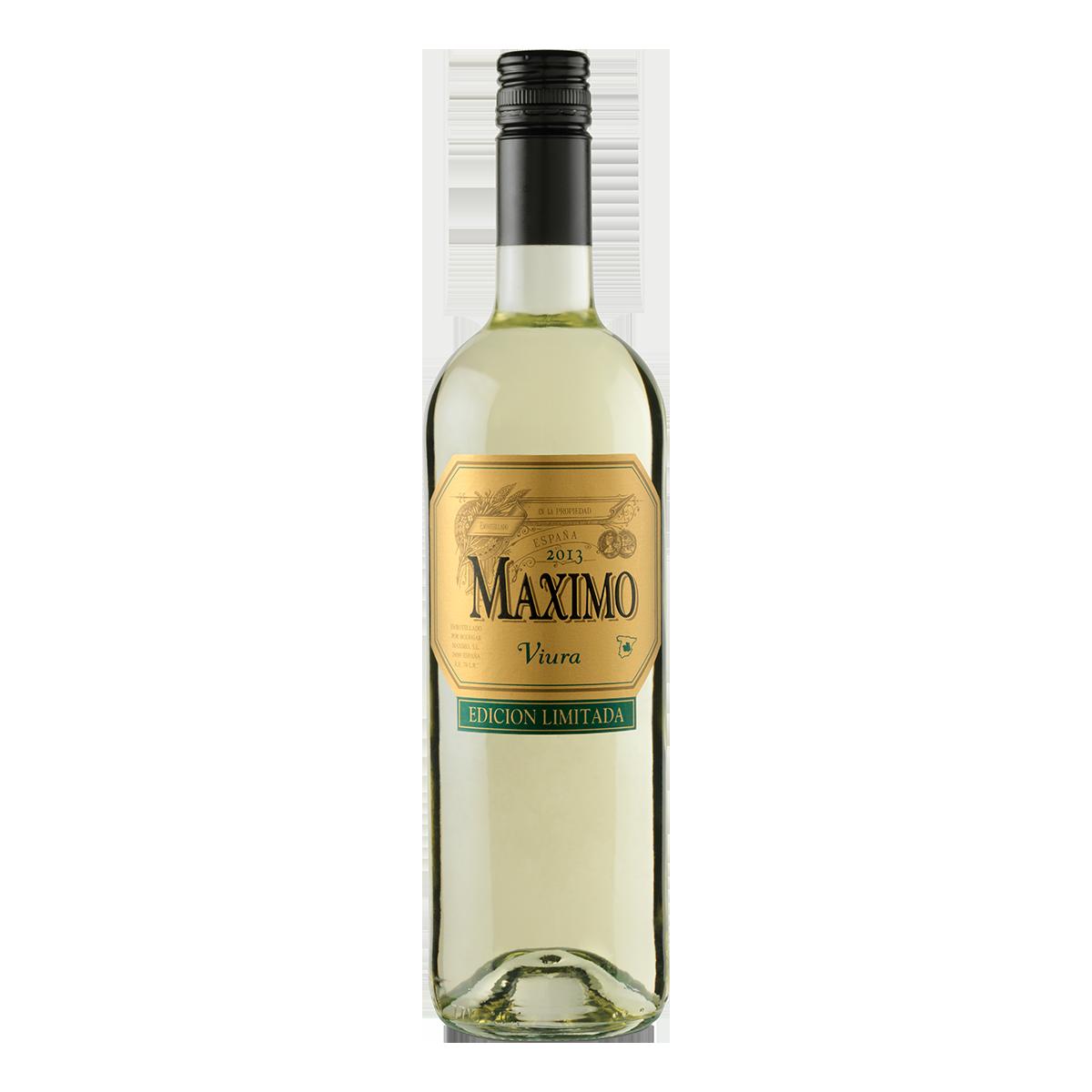ESM2101-15西班牙馬吉維拉2014高級白葡萄酒Maximo Viura Edición Limitada
