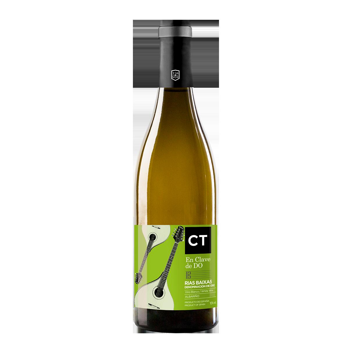 EST2201-18 西班牙三葉草莊園獨奏曲系列阿爾巴利諾白葡萄酒 CT En Clave de DO Albariño D.O. Rías Baixas