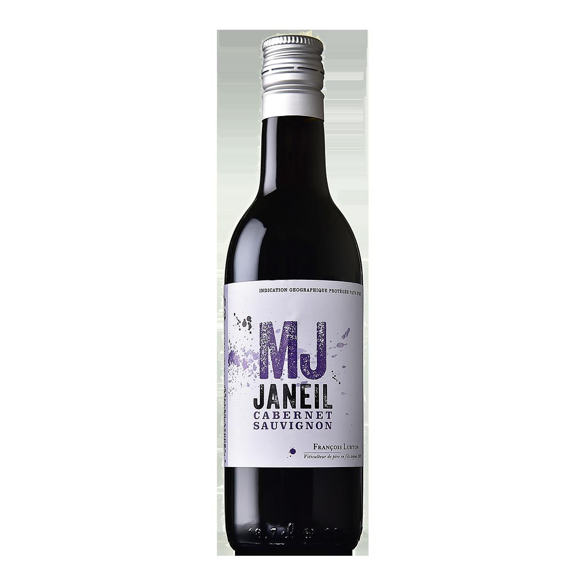 FRL1101Q 法國路得MJ卡本內蘇維濃紅酒 François Lurton MJ Janeil Cabernet Sauvignon Pays d'Oc I.G.P.(187ml)