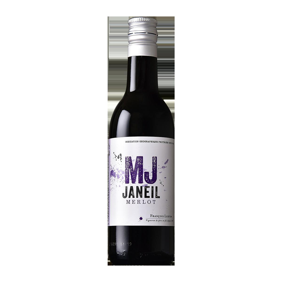 FRL1102Q 法國路得MJ梅洛紅酒 François Lurton MJ Janeil Merlot  Pays d'Oc I.G.P.  (187ML)