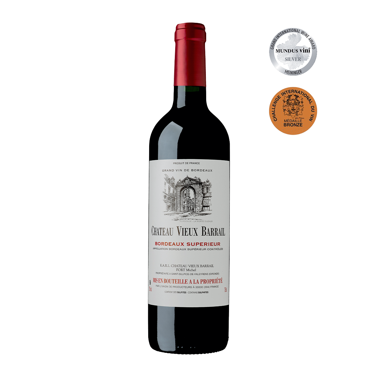 FRU1005-16 法國巴萊爾莊園優級波爾多紅酒