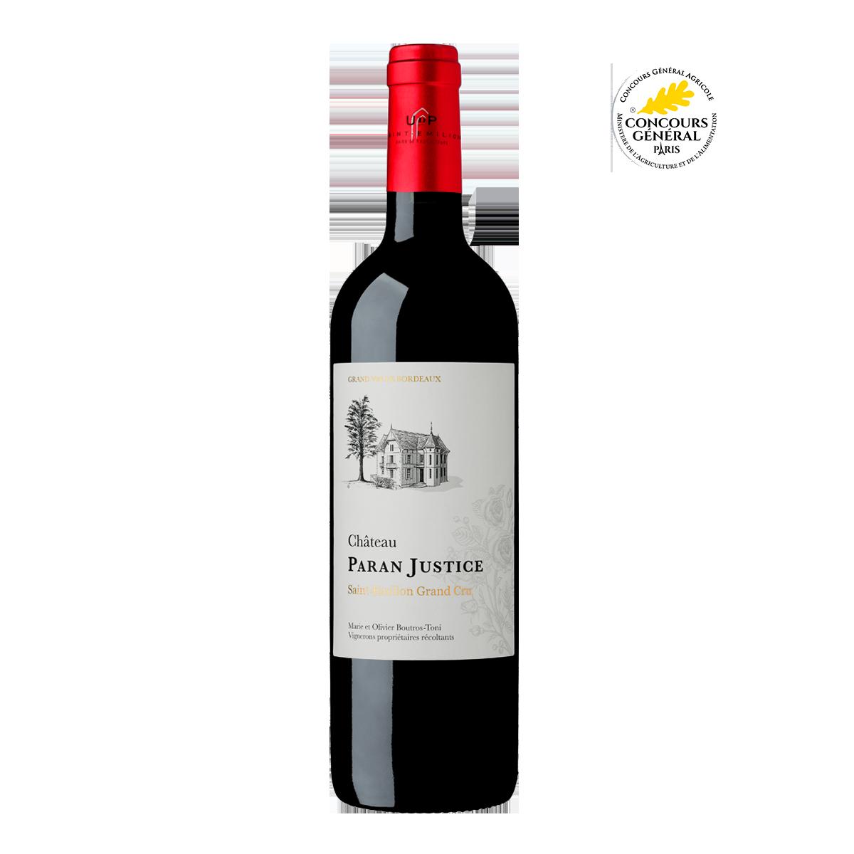 FRU1012-14 法國巴翰正義莊園特級聖愛美濃紅酒