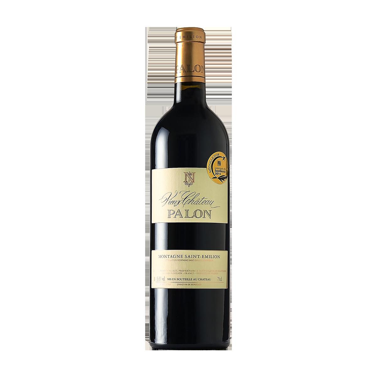FRU1017 法國巴龍莊園蒙塔涅-聖愛美濃紅酒 Vieux Château Palon Montagne Saint-Émilion A.O.C.